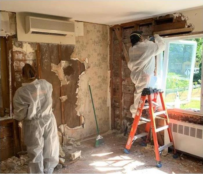 demolition during property damage restoration