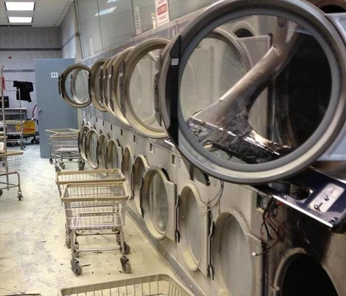 Wash and Clean Laundromat Before