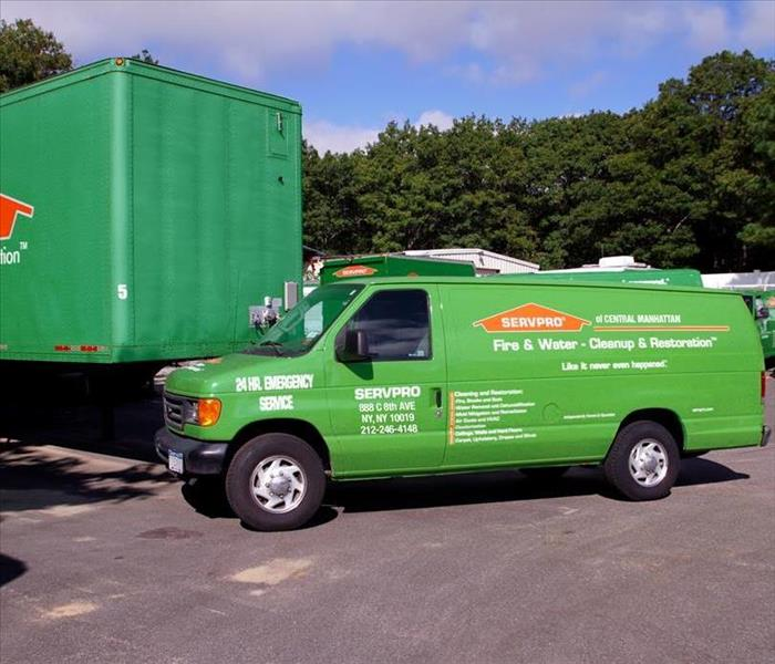 SERVPRO of Central Manhattan Vehicles
