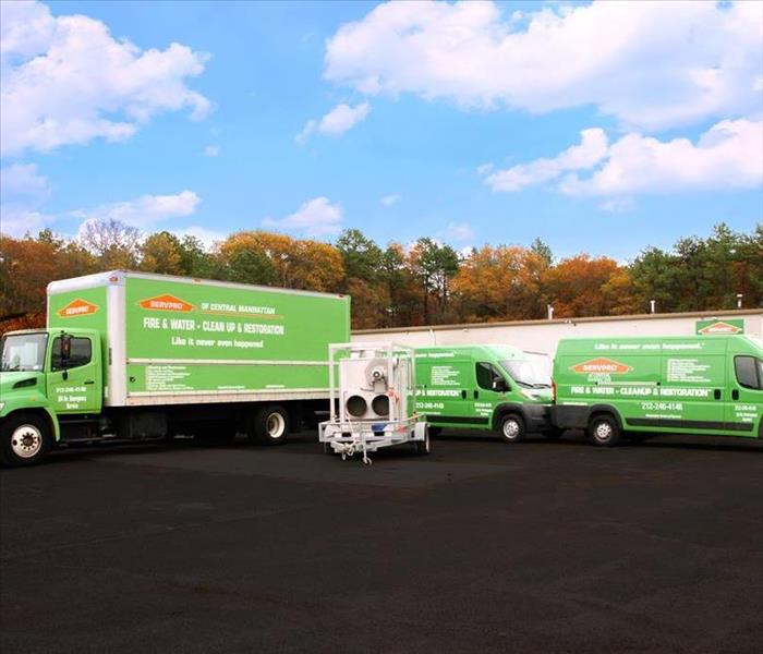 SERVPRO of Central Manhattan Fleet