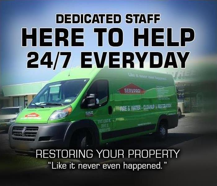 Why SERVPRO SERVPRO Is Always Open for Your Property Emergency
